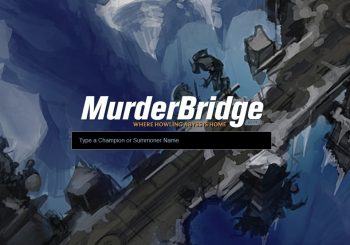 MurderBridge y sus estadísticas para ARAM llega a League of Legends.