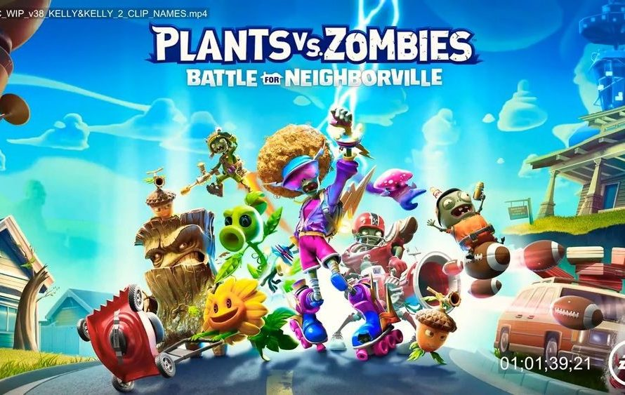 Ya es oficial el nuevo shooter de Plantas contra Zombis gracias a un vídeo filtrado: se llamará Plants vs. Zombies: Battle for Neighborville.