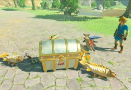 Silbando sin parar: así es la mejor forma de pescar peces en The Legend of Zelda: Breath of the Wild en unos segundos.